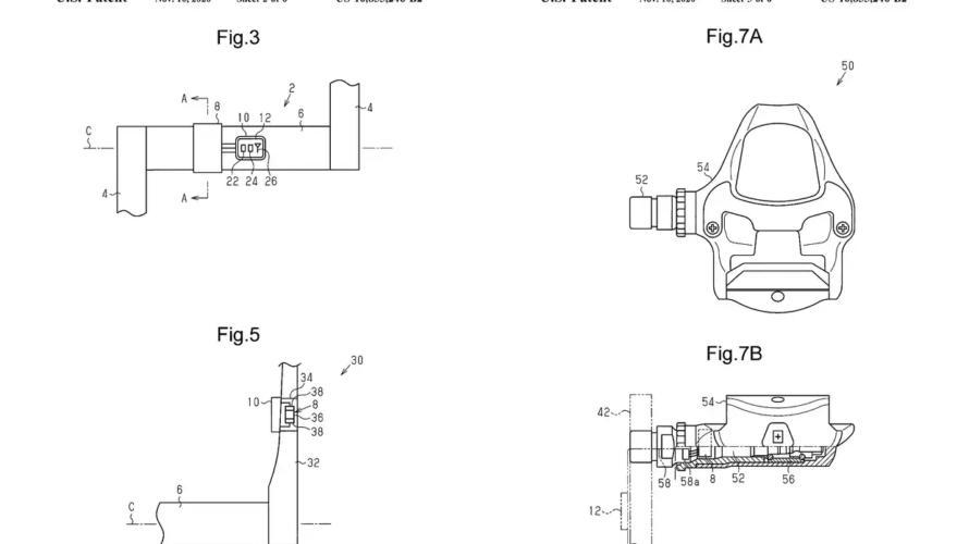 シマノはペダル型パワーメーターの特許を取っている?次期デュラエースに採用説浮上