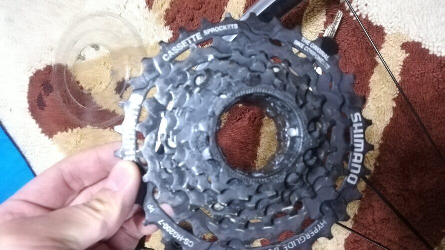 (ロードバイク)11速のホイールに7速のスプロケットを付ける方法(クロスバイク)